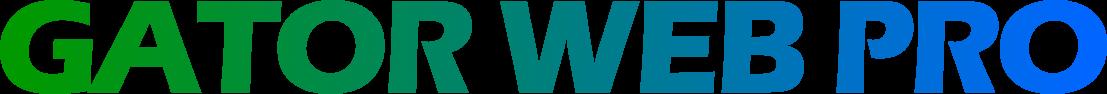 GATOR WEB PRO logo