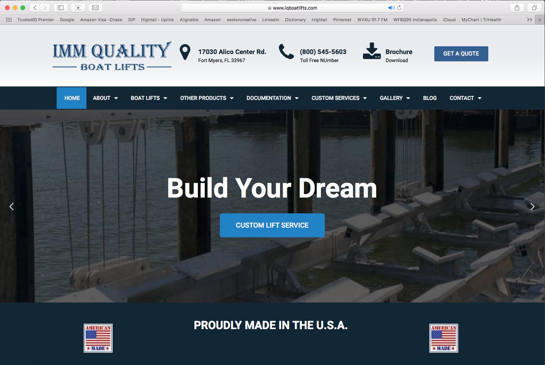 IMM Quality Boat Lifts